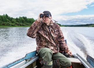 Schweden Jagd mit Boot