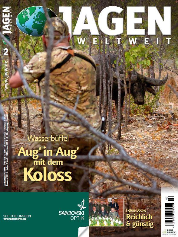 Jagen Weltweit Titel der Ausgabe 2 2017