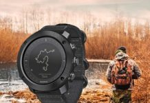 Suunto Traverse Alpha Stealth Uhr